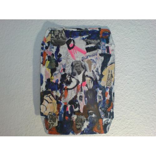 moderne Kunst/Mixed Media/Dekoration/sammeln/Bild: Clay 63