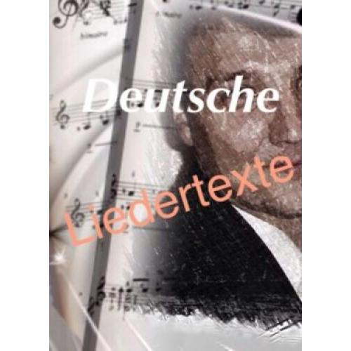 Deutsche Liedertexte, Songs, Lieder, Texter, Interpretensuche
